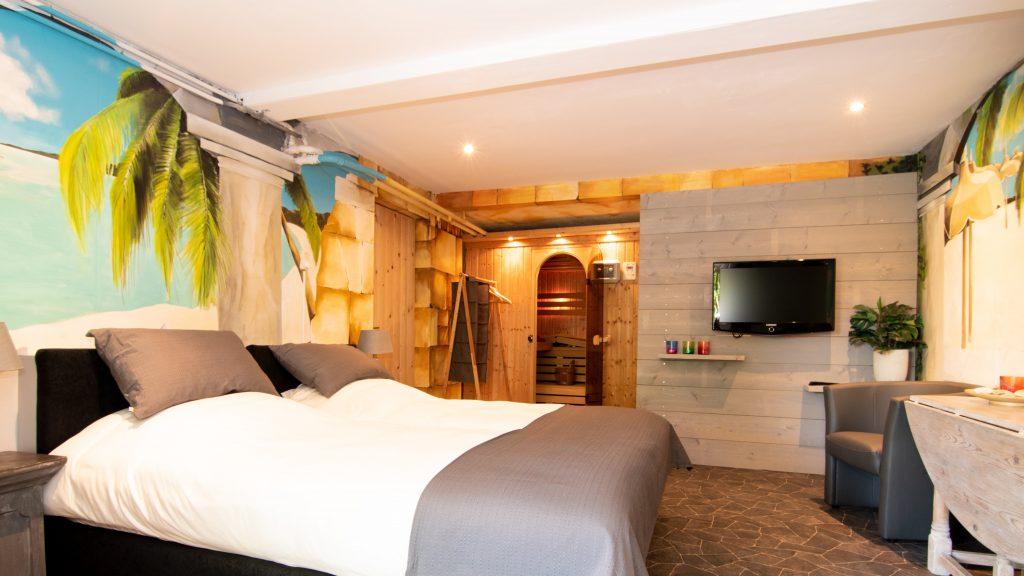 Ruime slaapkamer b&B zutphen